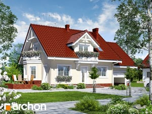 projekt Dom w rododendronach 9