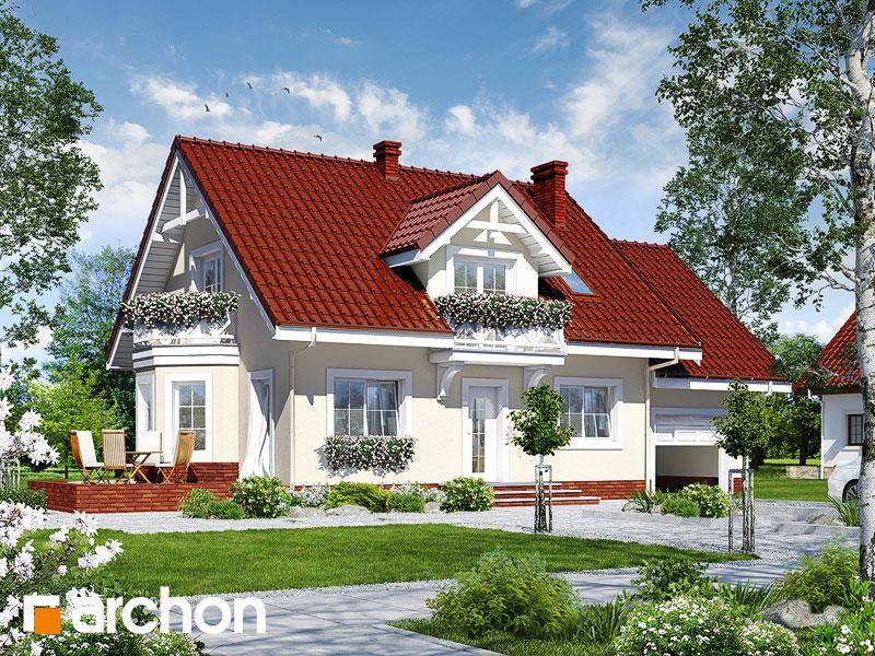 gotowy projekt Dom w rododendronach 9 widok 1