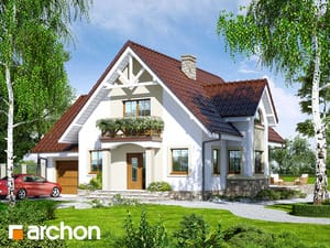gotowy projekt Dom w morelach 2