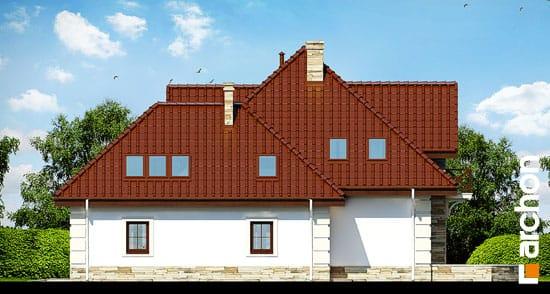 Elewacja boczna projekt dom w nagietkach 3  265