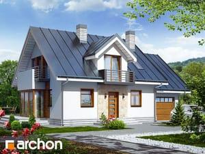 gotowy projekt Dom w rododendronach 6 (N)