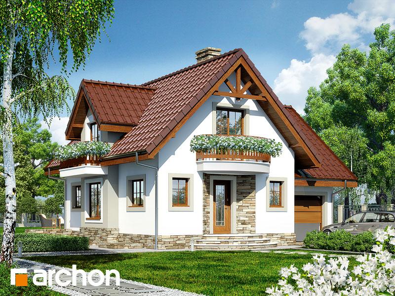 gotowy projekt Dom w antonówkach (GP) widok 1