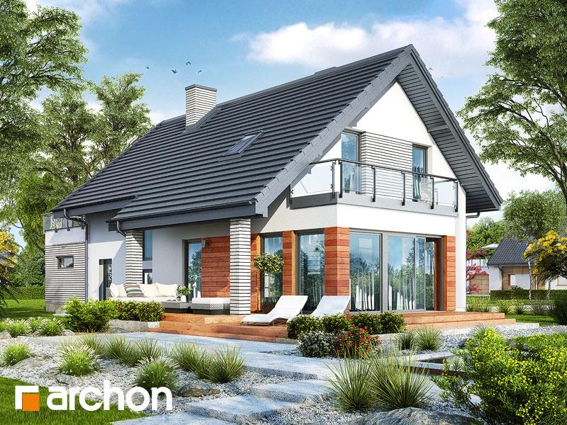 gotowy projekt Dom pod acerolą (G2) widok 1