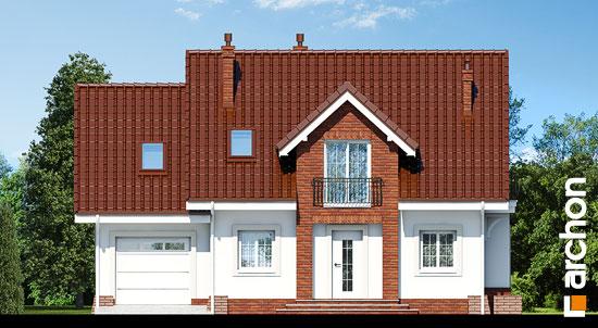 Elewacja frontowa projekt dom w lantanach 2  264