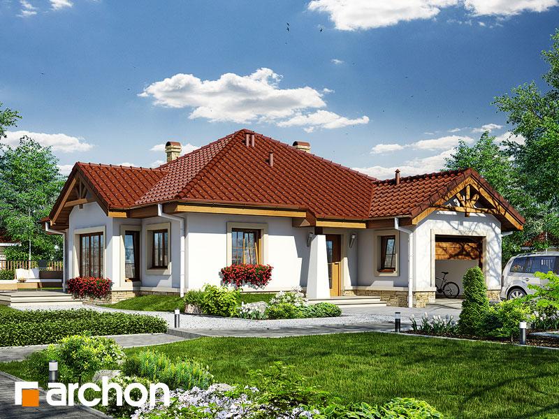 gotowy projekt Dom w renklodach widok 1