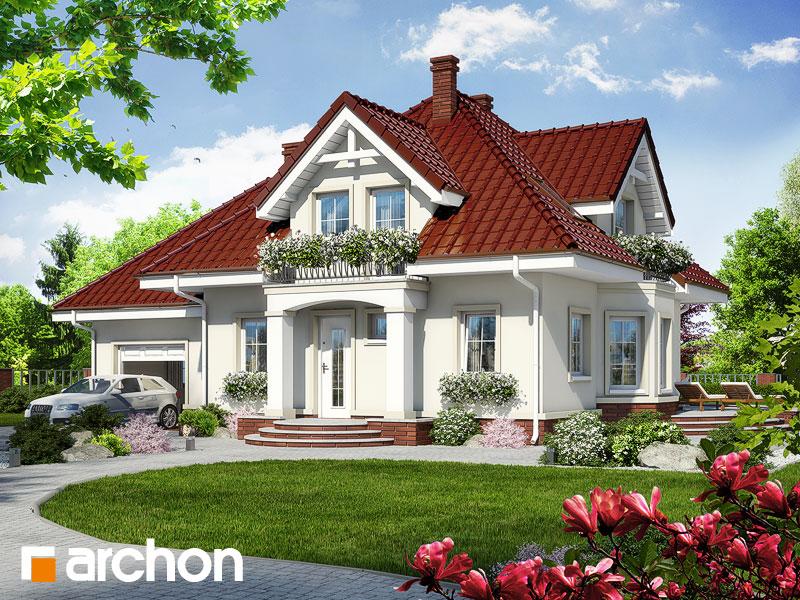gotowy projekt Dom w tamaryszkach 7 widok 1