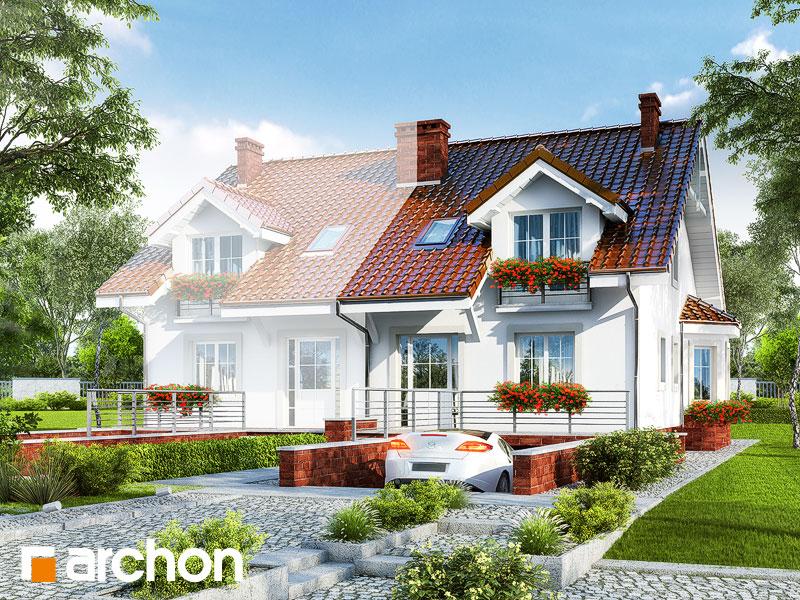 Projekt Domu Dom W Ostróżkach 2 P Archon