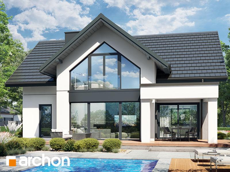 gotowy projekt Dom w szampionach 2 (E) widok 1