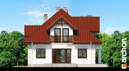 Elewacja boczna projekt dom w jezowkach 3  266