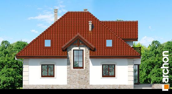 Elewacja ogrodowa projekt dom w jezowkach 3  267