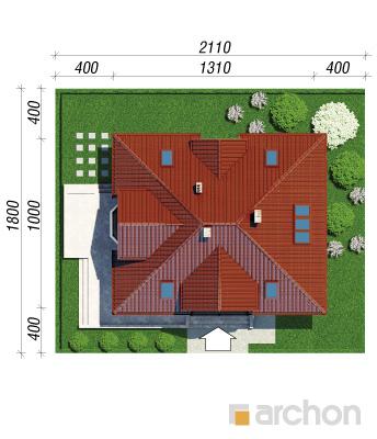 projekt Dom w jeżówkach 3 sytuacja