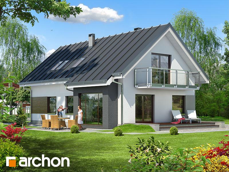 Projekt Domu Dom W Ostróżkach 4 Dodatki Archon