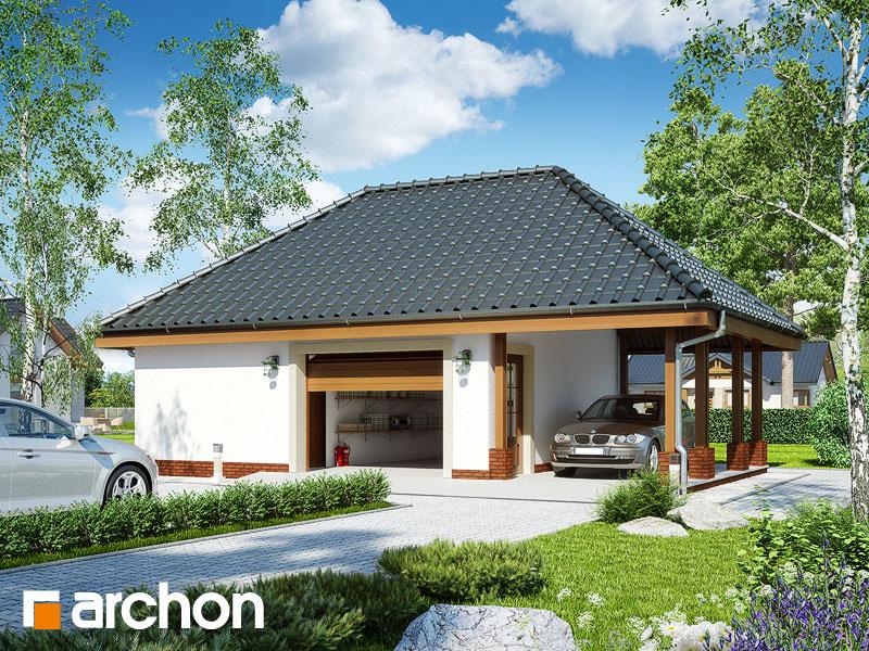 Projekt Garażu Garaż 1 Stanowiskowy G16 Archon