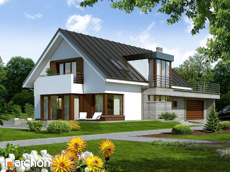 Projekt Domu Dom W Mandragorze G2 Galeria Archon