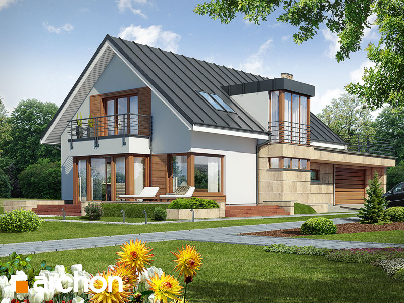 gotowy projekt Dom w mandragorze (G2) widok 1