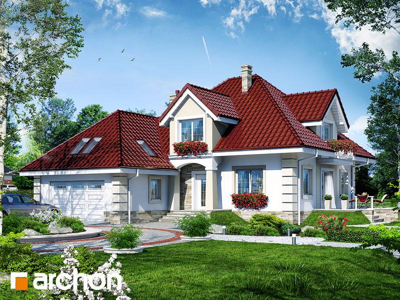 gotowy projekt Dom w lewkoniach 3 widok 1