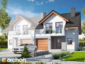 projekt Dom w klematisach 21 (B)