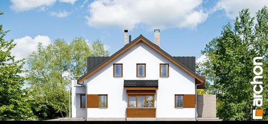 Elewacja boczna projekt dom w klematisach 8  265