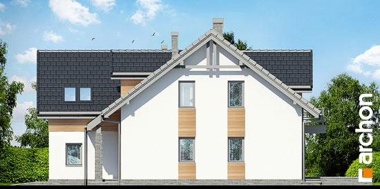 Elewacja boczna projekt dom w klematisach 11  265
