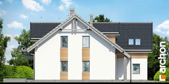 Elewacja boczna projekt dom w klematisach 11  266