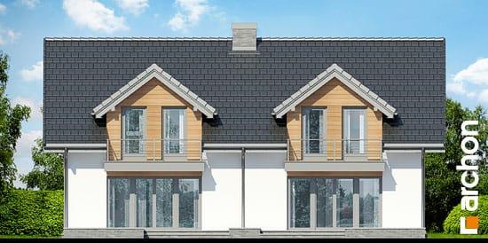Elewacja ogrodowa projekt dom w klematisach 11  267