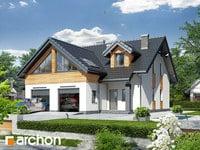 projekt Dom w klematisach 11 widok 1