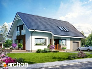 projekt Dom w bugenwillach (P)