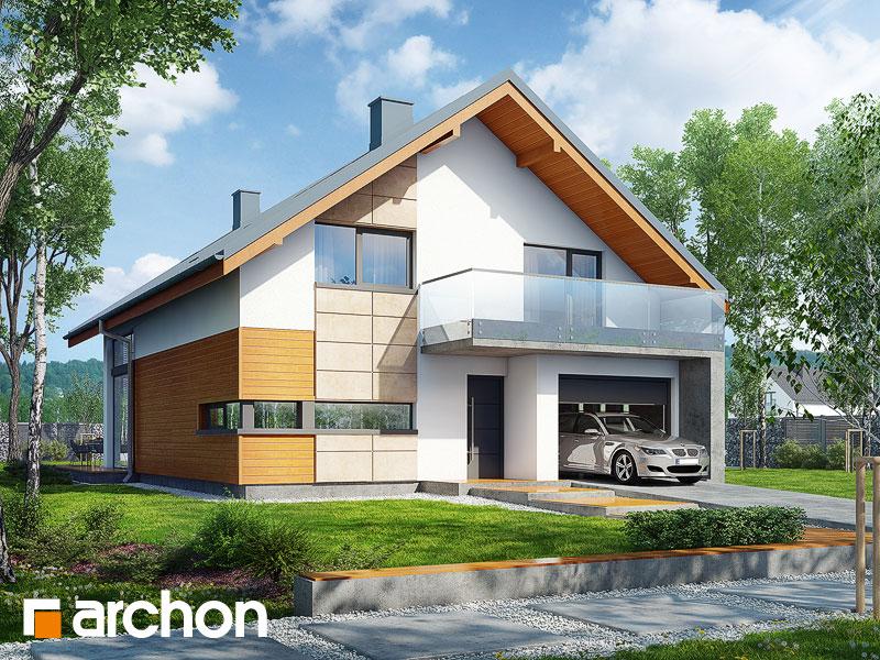 gotowy projekt Dom w kokornaku widok 1