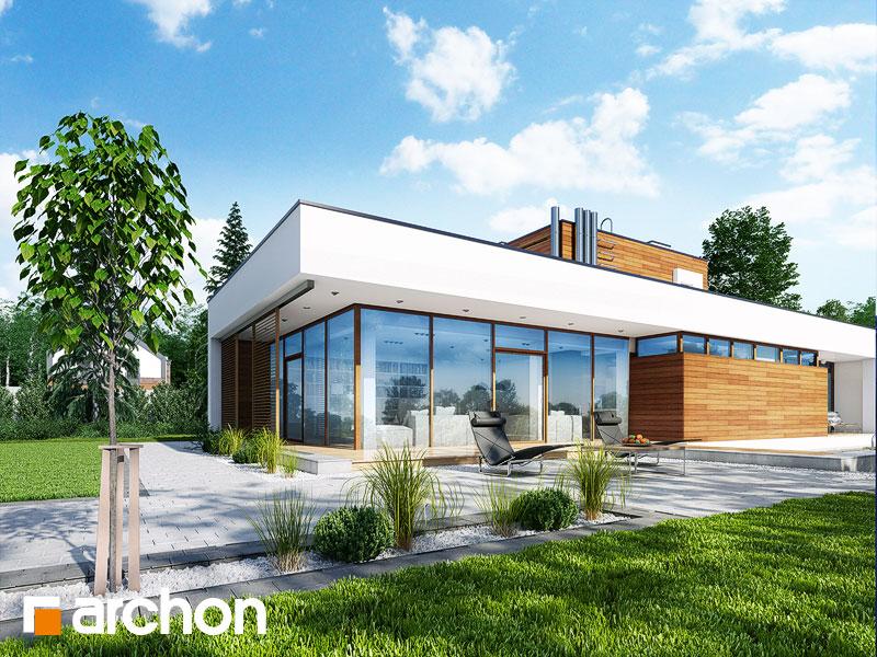 projekt domu dom w borrago g archon. Black Bedroom Furniture Sets. Home Design Ideas