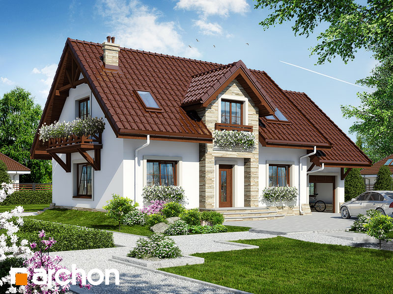 gotowy projekt Dom w lucernie 3 widok 1