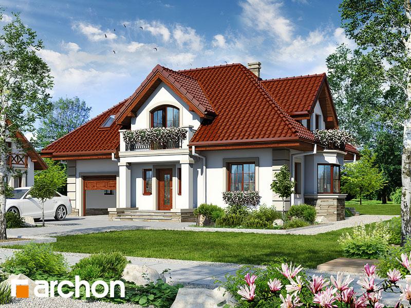 gotowy projekt Dom w złotlinie widok 1