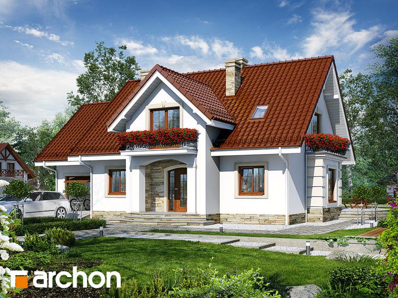 gotowy projekt Dom w lobeliach 4 widok 1