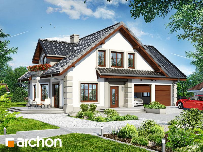 gotowy projekt Dom w dąbrówkach 2 (G2) widok 1