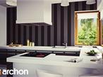 projekt Willa Weronika 3 Wizualizacja kuchni 1 widok 1