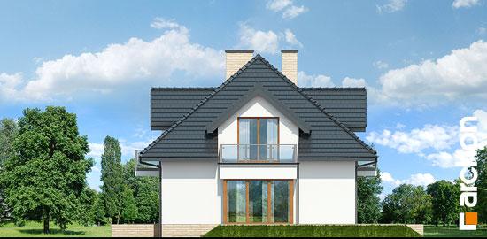 Elewacja boczna projekt dom w werbenach 8 g2pn  265
