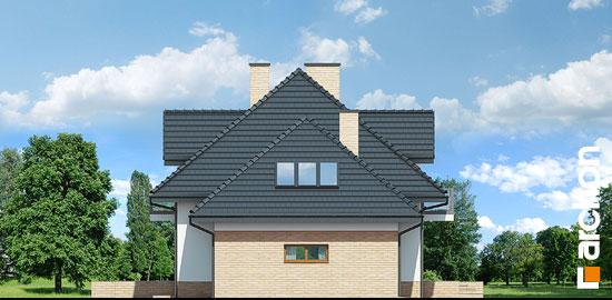 Elewacja boczna projekt dom w werbenach 8 g2pn  266