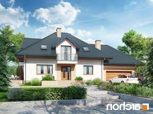 projekt Dom w werbenach 8 (G2PN) lustrzane odbicie 1