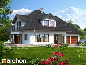 gotowy projekt Dom w czarnuszce (G2)