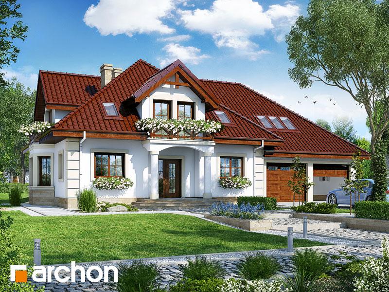 gotowy projekt Dom w tymianku 4 (G2) widok 1