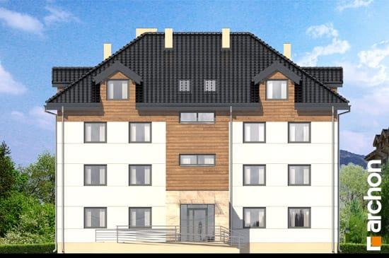 Elewacja frontowa projekt dom nad bulwarem 10  264