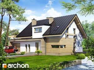 gotowy projekt Dom w truskawkach 2 (N)