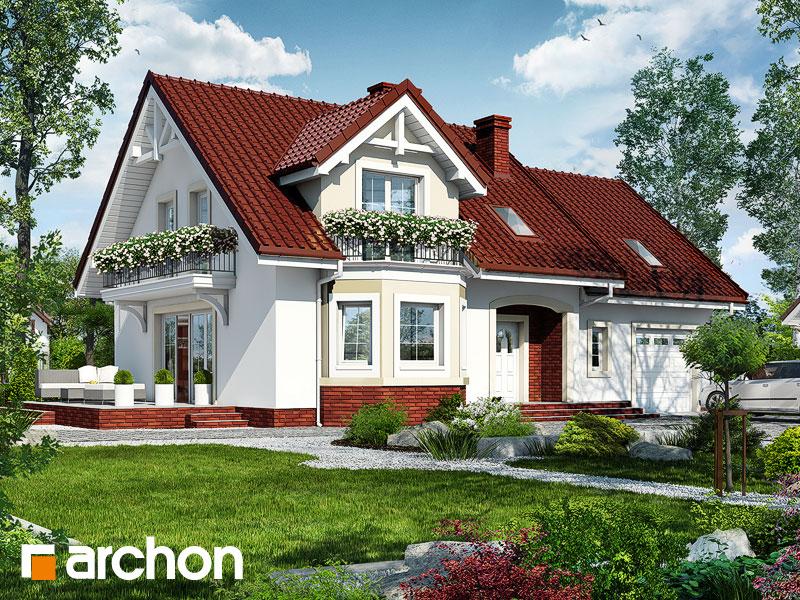 gotowy projekt Dom w renetach widok 1