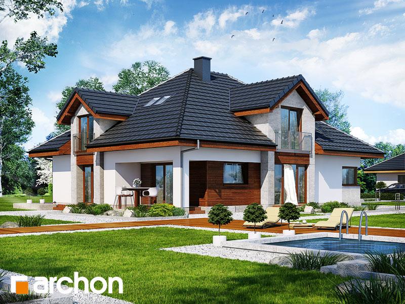 gotowy projekt Dom w hebe widok 1