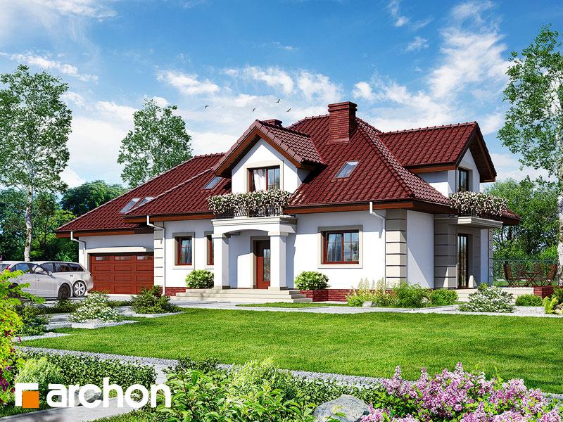 gotowy projekt Dom w kaliach 4 (G2) widok 1