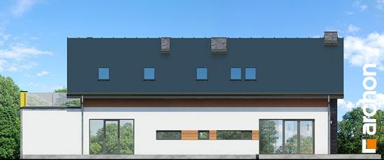 Elewacja ogrodowa projekt dom w laurach  267