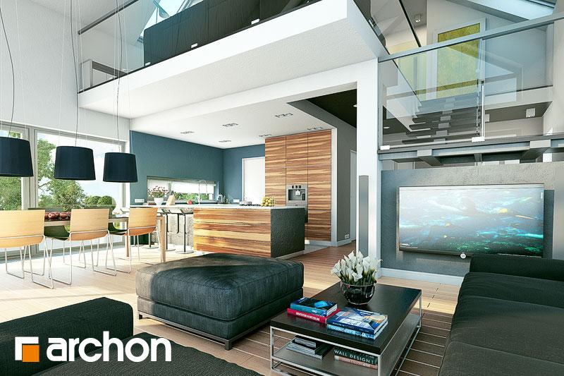 Projekt Domu Dom W Laurach Archon
