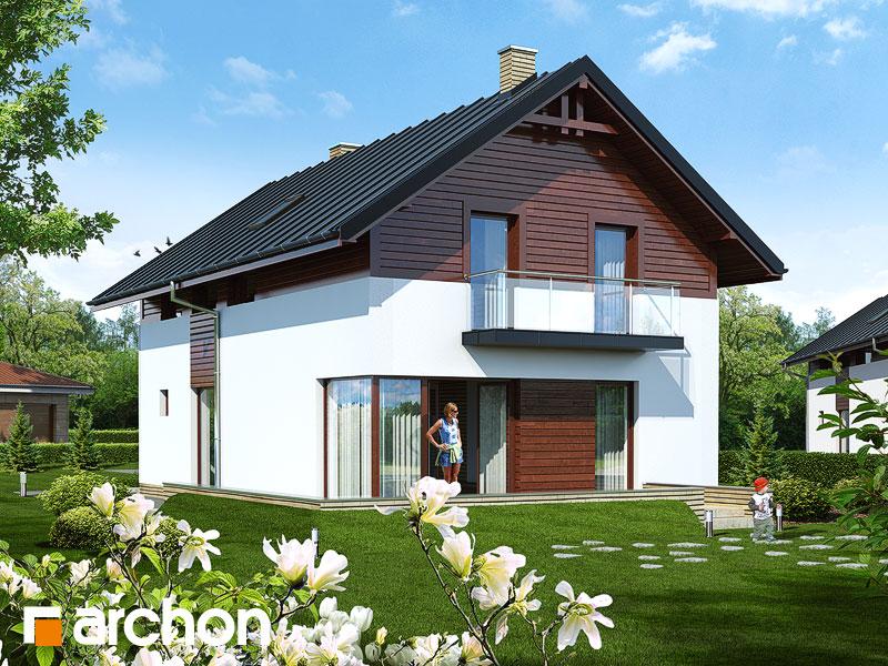 gotowy projekt Dom w asarinach widok 1