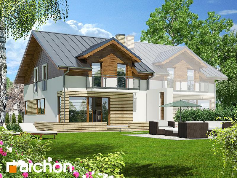 gotowy projekt Dom w czernicach (B) widok 2