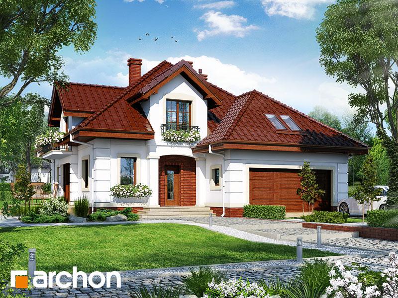 gotowy projekt Dom w daturach widok 1