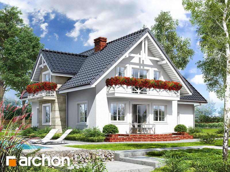 gotowy projekt Dom w michałkach widok 1
